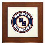 Norman Nobodies Framed Tile