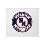 Norman Nobodies Throw Blanket