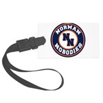 Norman Nobodies Large Luggage Tag