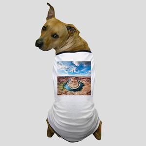Horseshoe Bend Dog T-Shirt