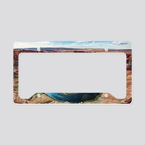 Horseshoe Bend License Plate Holder