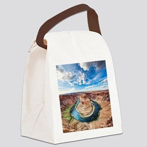 Horseshoe Bend Canvas Lunch Bag