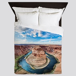 Horseshoe Bend Queen Duvet