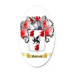 Godfreed Oval Car Magnet