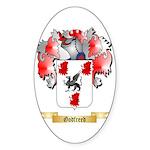 Godfreed Sticker (Oval 50 pk)