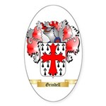 Grindell Sticker (Oval 50 pk)