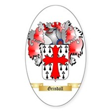 Grindall Sticker (Oval)