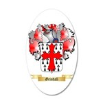 Grindall 20x12 Oval Wall Decal