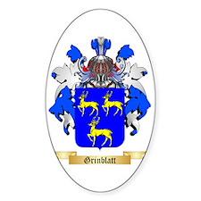 Grinblatt Sticker (Oval)