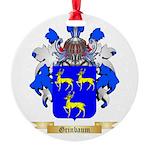 Grinbaum Round Ornament