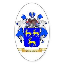 Grinbaum Sticker (Oval)