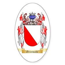 Grimwade Sticker (Oval)