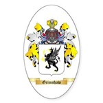 Grimshaw Sticker (Oval 10 pk)