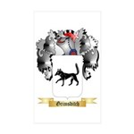 Grimsditch Sticker (Rectangle 50 pk)