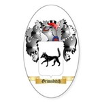 Grimsditch Sticker (Oval 50 pk)