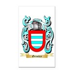 Grimley Rectangle Car Magnet