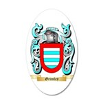 Grimley 20x12 Oval Wall Decal