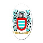 Grimley 35x21 Oval Wall Decal