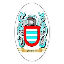 Grimbly Sticker (Oval)