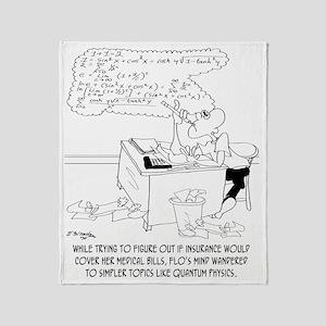 Insurance Cartoon 8760 Throw Blanket