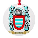Grimbleby Round Ornament