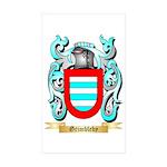Grimbleby Sticker (Rectangle 50 pk)