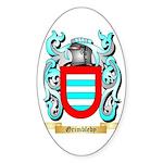 Grimbleby Sticker (Oval 10 pk)
