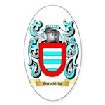 Grimbleby Sticker (Oval 50 pk)