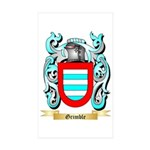 Grimble Sticker (Rectangle 50 pk)