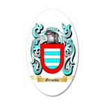 Grimble 20x12 Oval Wall Decal
