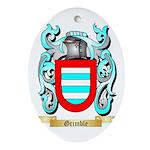 Grimble Ornament (Oval)