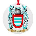 Grimball Round Ornament