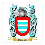 Grimball Square Car Magnet 3