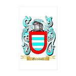 Grimball Sticker (Rectangle 50 pk)