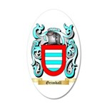 Grimball 35x21 Oval Wall Decal