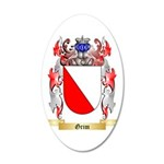 Grim 35x21 Oval Wall Decal