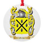 Grilo Round Ornament
