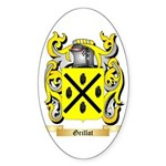 Grillot Sticker (Oval 50 pk)