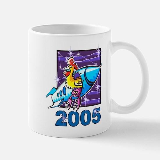 Space Rooster Mug