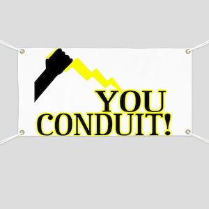 You Conduit Banner