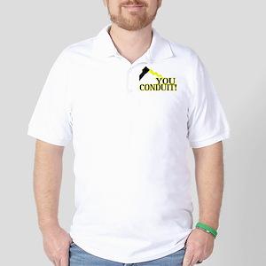 You Conduit Golf Shirt