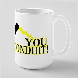 You Conduit Large Mug
