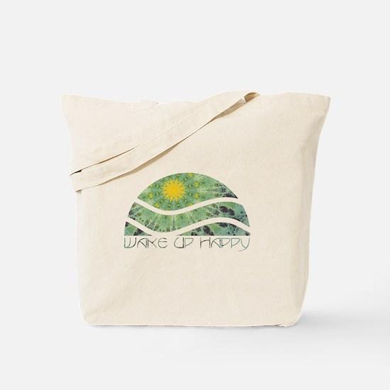 Wake Up Happy Tote Bag
