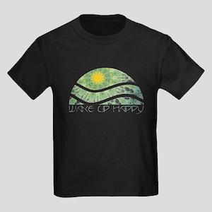 Wake Up Happy Kids Dark T-Shirt