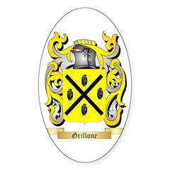 Grillone Sticker (Oval 10 pk)