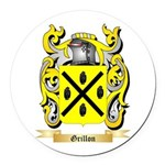Grillon Round Car Magnet