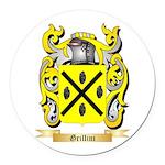 Grillini Round Car Magnet