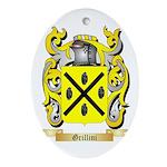 Grillini Ornament (Oval)