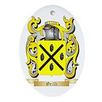 Grilli Ornament (Oval)