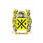 Grilletto Sticker (Rectangle 50 pk)
